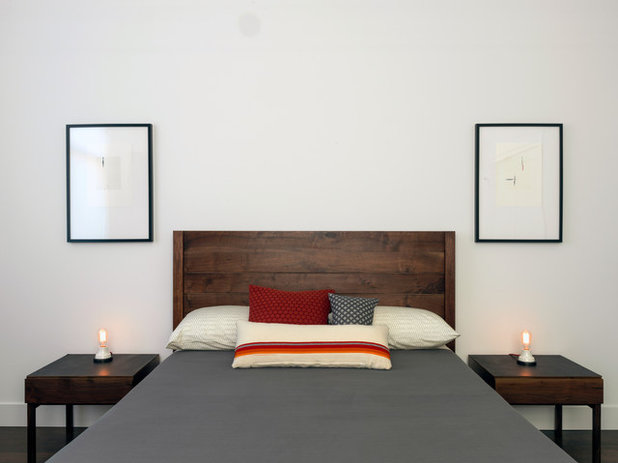 Transitional Bedroom by FIELDWORK Design & Architecture