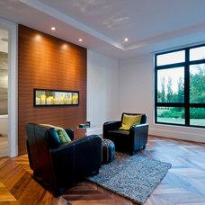 Contemporary Bedroom by Rockridge Fine Homes