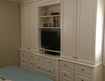 The Brass Master Bedroom & Closet