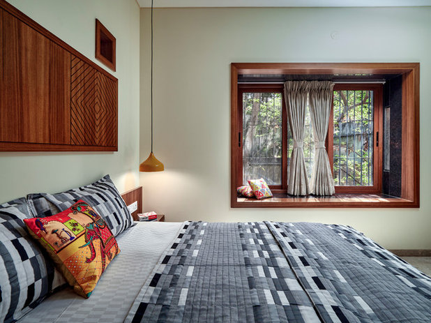 Modern Bedroom by Alok Kothari Architects