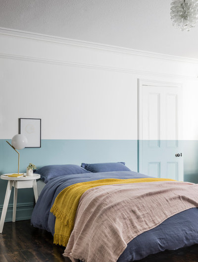 Contemporary Bedroom by The Paint Makers