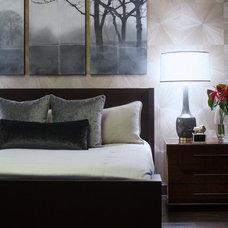 Contemporary Bedroom by Bryan Alan Kirkland Designs