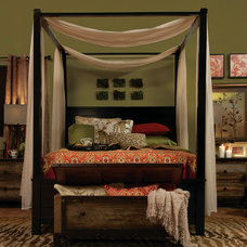 Eclectic Bedroom by Jerome's Furniture
