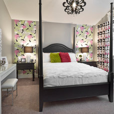 Transitional Bedroom by Infiniti Master Builder