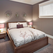Transitional Bedroom by Infiniti Master Builder