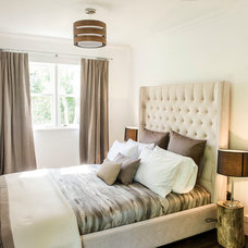 Transitional Bedroom by Florence Interiors