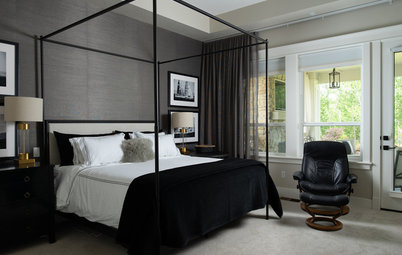 5 Fab Colors for a Dramatic Yet Inviting Guest Room