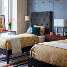 Modern Bedroom by Terrat Elms Interior Design