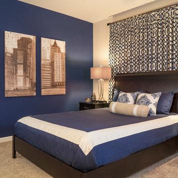 The Cobalt Villa Bedroom