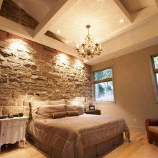 Modern Bedroom by David Small Designs