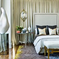 Eclectic Bedroom by Mark WIlliams Design Associates
