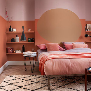 Photo of a contemporary bedroom in Berkshire.