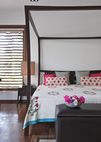 Indian Bedroom by Hiren Patel Architects