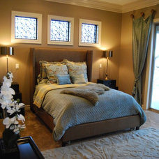 Contemporary Bedroom by Browning Homes, Inc.