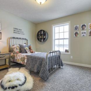 Bedroom - traditional bedroom idea in Grand Rapids