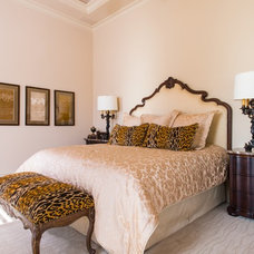 Eclectic Bedroom by Melody Jurick Designs, LLC