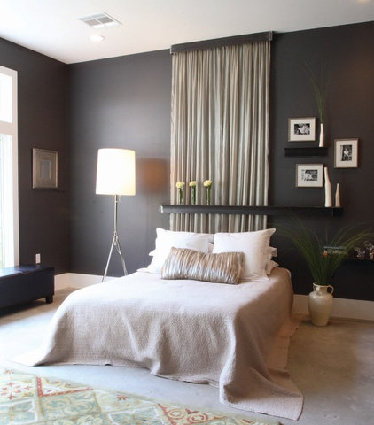 Contemporary Bedroom by The Front Door / Dwayne Carruth