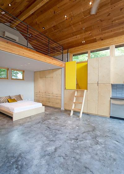 Contemporary Bedroom by Steven Allen Designs, LLC