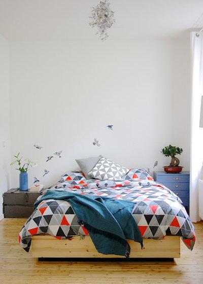 Skandinavisch Schlafzimmer by Holly Marder