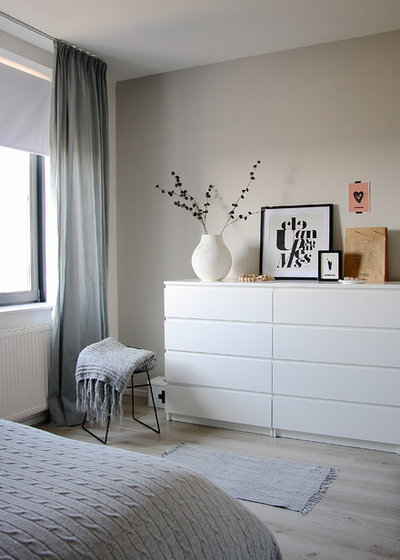 How to hang curtains over radiators - Houzz dormitorios ...