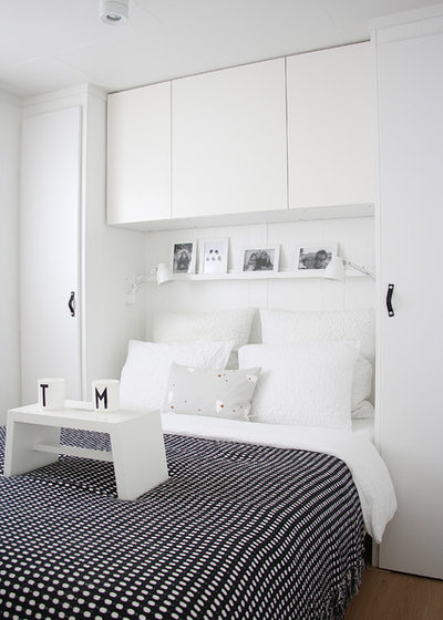 Scandinavian Bedroom by Holly Marder