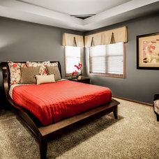 Transitional Bedroom by Veridian Homes