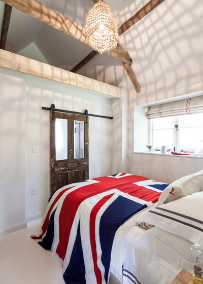 Shabby-Chic-Style Schlafzimmer by Chris Snook