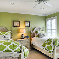 Beach Style Bedroom by Schell Brothers