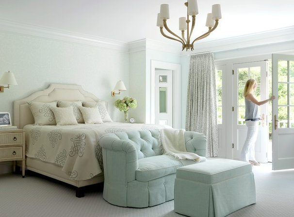 Traditional Bedroom by Mitchell Wall Architecture & Design
