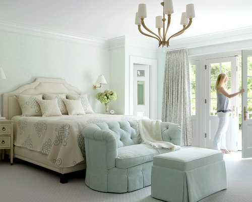 Example Of A Classic Master Bedroom Design In St Louis
