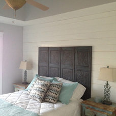 Eclectic Bedroom by Total Quality Home Builders, Inc.