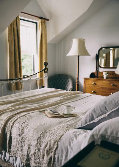 Rustic Bedroom by Field Day Studio