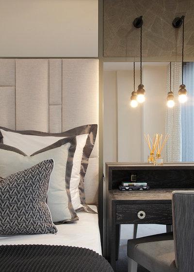 Clásico renovado Dormitorio by Rachel Winham Interior Design