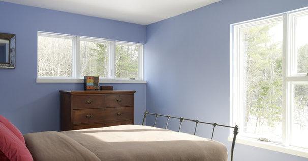 Contemporary Bedroom by David Matero Architecture