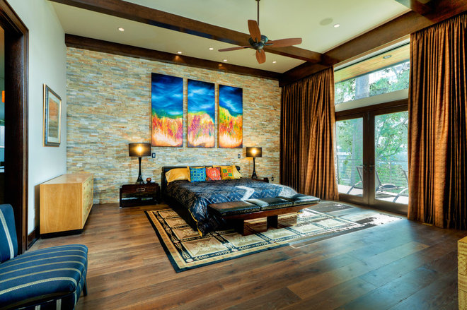 Modern Bedroom by Charles Todd Helton, Architect