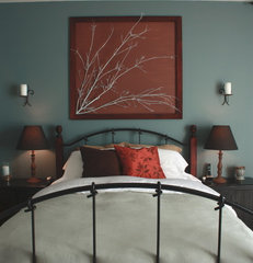 contemporary bedroom by It's The Little Things...