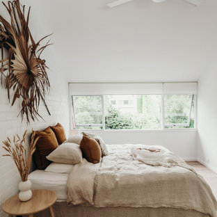 Scandinavian bedroom in Central Coast.