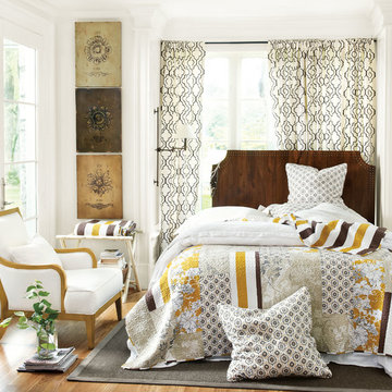 The Lorraine Quilted Collection.