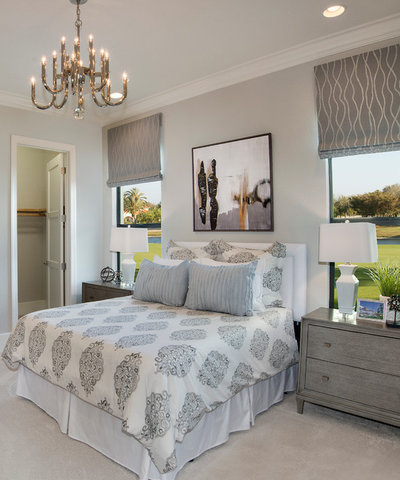 Perfect Transitional Bedroom by Beasley u Henley Interior Design
