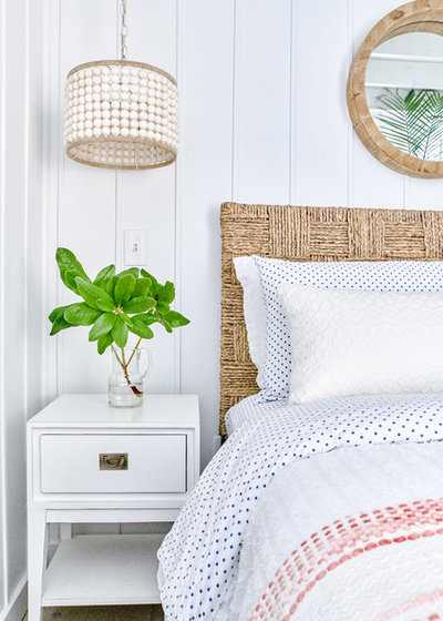 Beach Style Bedroom by Blakely Interior Design