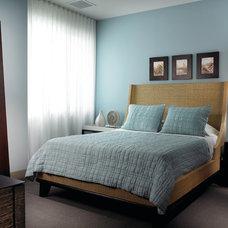 Eclectic Bedroom by Allen Saunders, Inc.