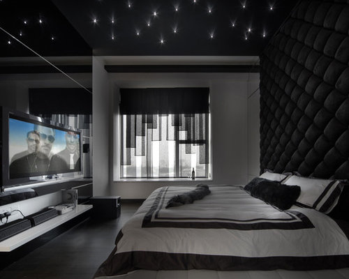 Black bedroom ideas pictures remodel and decor for Bedroom ideas black