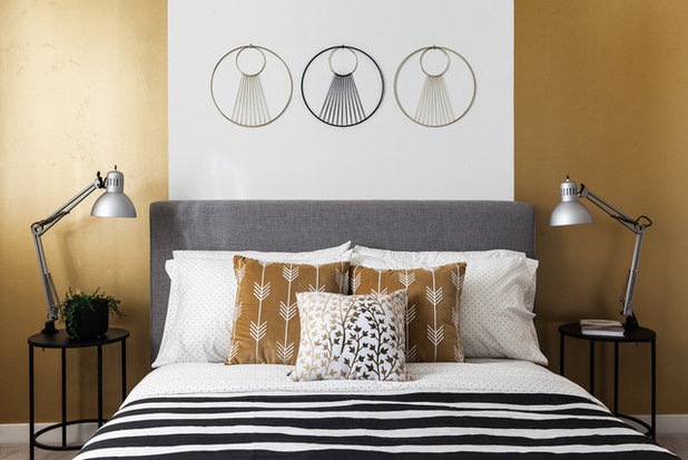Scandinavian Bedroom by Kat Alves Photography