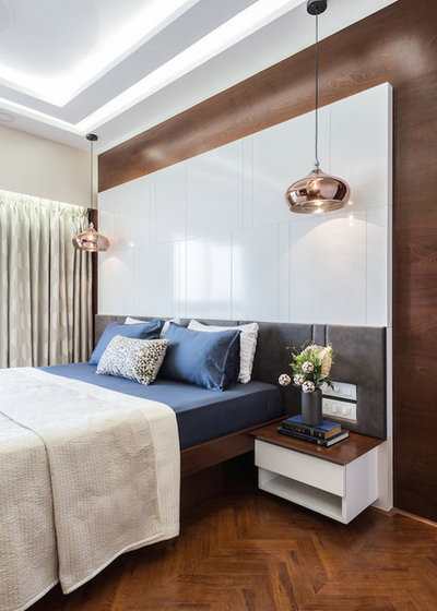 Contemporary Bedroom by The Design House Company