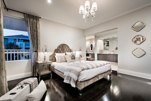 Transitional Bedroom by Plunkett Homes