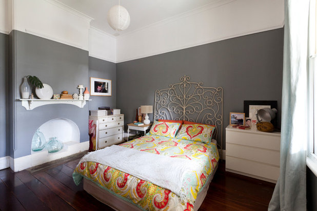 Eclectic Bedroom By Le And Whistle