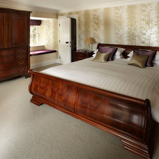 Traditional Bedroom by Rebecca Heane