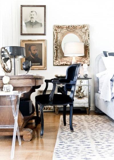 British Colonial Bedroom by Jamie Laubhan-Oliver