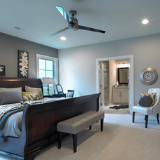 Transitional Bedroom by Jagoe Homes Inc