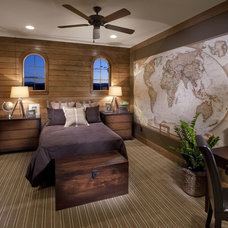 Mediterranean Bedroom by Celebrity Communities